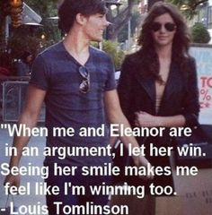 Louis Tomlinson and Eleanor Calder have the best relationship! Perfect couple ever! Louis is so adorable. And Eleanor is so beautiful. Eleanor Calder Style, Louis And Eleanor, The Girlfriends, I Love One Direction, 0ne Direction, Louis Williams, Perfect Couple, 1d And 5sos, Favim