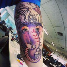 Ganesh. Ganesh Tattoo, Skull, Portrait, Tattoos, Instagram, Pattern Tattoos, Tatuajes, Headshot Photography, Tattoo