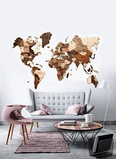 Dieser Artikel ist nicht verfügbar Birthday Gift For Husband Anniversary First New Home Art Decor Multicolored Push Pins Map Of The World Wedding Bridesmaid Gift ———————————————————————————————– SPECIAL OFFER – days delivery (USA. Wood World Map, World Map Wall, Map Wall Art, Large Wall Art, 3d Wall, Wooden Map, Wooden Wall Decor, Wooden Walls, Wall Wood