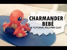 Baby Charmander Polymer Clay Tutorial / Charmander Bebé - YouTube