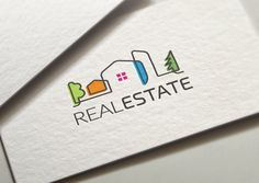 Real Estate Logo Template by LogoMagazin on Creative Market