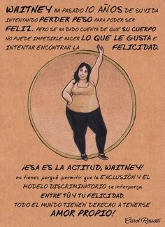 In need of some inspiration, or just a quick break from your day? Take a look at these empowering feminism illustrations from designer Carol Rossetti - we love them, and we're sure you will too! Body Love, Loving Your Body, Image Positive, Body Positive, Positive Art, Body Shaming, Intersectional Feminism, Trying To Lose Weight, Loosing Weight