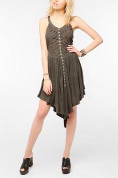 Ecote Knit Acid Rain Cross-Back Dress