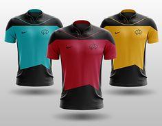 Star Trek: The Next Generation - Soccer Kits