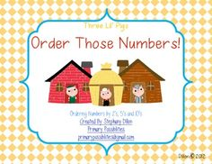 Here's a set of materials for ordering numbers by 2s, 5s, and 10s. Recording sheet included.