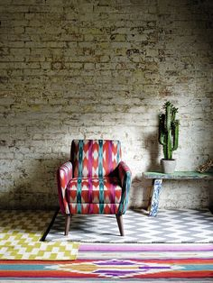 Adore the color, pattern and textures.
