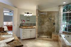 Wine Country Lifestyle spacious master bath