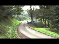 A Rally car bangs to a tree - Horrible Accident