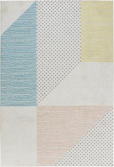 Madison Cream/Pink/Blue Rug