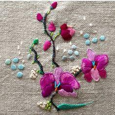 Lo que me gusta pintar son flores como a Melissa Hindell !!!!