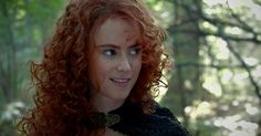 """Pixar's Merida comes to life, tousled red hair and all, in the first look at Amy Manson's upcoming """"Once Upon A Time"""" role."""