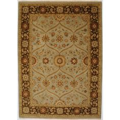 Hand Knotted Rug 10' X 14' 8/8   HOM Furniture