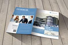 Modern Apartaments Indesign Template Brochure A4 on Behance
