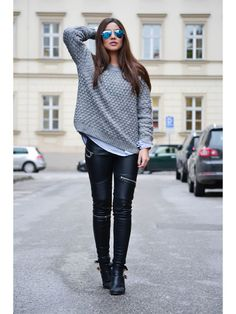 Casual work Outfits to copy asap Mode Outfits, Fall Outfits, Casual Outfits, Look Fashion, Womens Fashion, Fashion Trends, Street Fashion, Fashion Bloggers, Latest Fashion