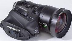 Fujinon 19-90mm Cabrio / T2.9(ZK4.7x19) lens. Fujifilm + SHOTOVER: Fujinon-Equipped SHOTOVER Gyro Stabilized Camera Systems for High Velocity & Aerial Cinematography