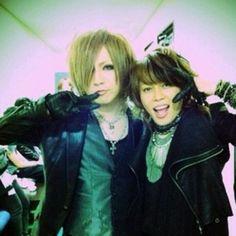 Ruki. Takanori. TM Revolution x The GazettE.