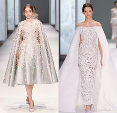 Superhero Fairy Tale! 20 Statement-Making Wedding Gowns With Capes!