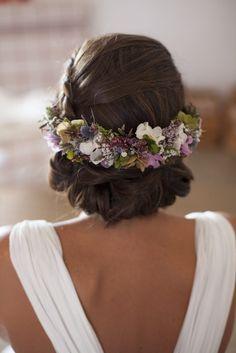 Tocados de flores preservadas. Post by Arbolande