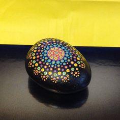 Hand+Painted+Rock++Aboriginal+Inspired+Dot+Art+by+AfterHourArt