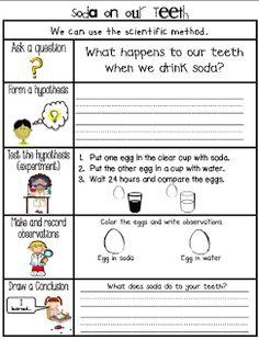 Sarah's First Grade Snippets: Dental Health Experiments, a Fun Math activity, a Mini unit and a Freebie