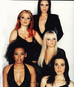 The Spice Girls. This was my first favorite band