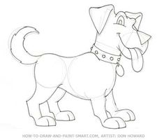 How To Draw A Cute Dog Step By Step Manual Images | free drawing ...