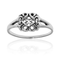 Shop for Endless Celtic Ribbons .925 Sterling Silver Everyday Ring (Thailand). Free Shipping on orders over $45 at Overstock.com - Your Online World Jewelry Outlet Store! Get 5% in rewards with Club O!
