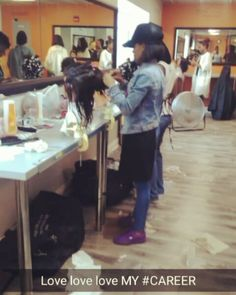 LOVING THE PROCESS TO BECOME #GREAT #itslevelstothis #HAIR #hairstylist #COSMETOLOGY #COSMETOLOGYSCHOOL #DC http://tipsrazzi.com/ipost/1518983601374109095/?code=BUUg4mbjB2n