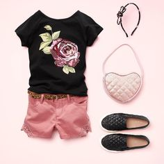Online Shopping For Kids Girls Summer Outfits, Little Girl Outfits, Cute Girl Outfits, Cute Outfits For Kids, Little Girl Fashion, Toddler Outfits, Unique Baby Clothes, Baby Kids Clothes, Tween Fashion