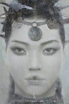 GODDESSES OF NIBIRU by Romulo Royo - http://www.laberintogris.com/es/7-ediciones-limitadas