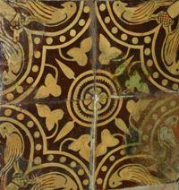 Norton Priory tiles