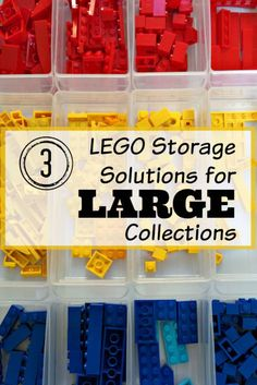 3 LEGO Storage Solutions for Large Collections - thehandymansdaughter.com