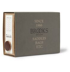 Brooks England Leather and Metal Bike Grips | MR PORTER