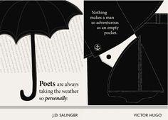 J.D. Salinger, Victor Hugo