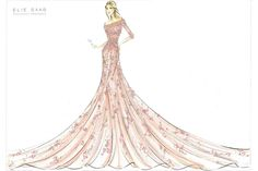 Elie Saab for 2012 Harrods Disney Collection