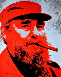Fidel Castro Original Limited Signed Edition Art Prints are available for $ 35.  www.victorminca.com