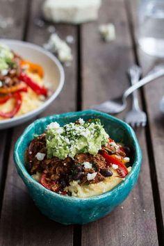 Easy Chicken Tamale Burrito Bowls Raw Food Recipes, Vegetarian Recipes, Healthy Recipes, Freezer Recipes, Freezer Cooking, What's Cooking, Drink Recipes, Chicken Recipes, Mexican Dinner Recipes