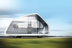 "Concept car - ""autonomobile."" Living room on wheels"