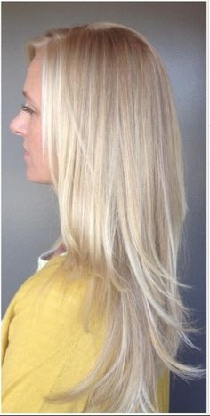 Ash blonde hair with highlights. #Hair #Beauty #Blonde Visit Beauty.com for more.