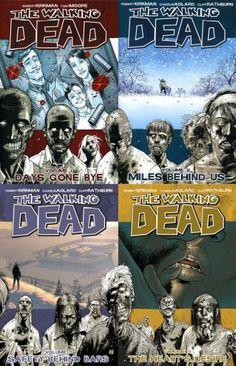 Walking Dead, Vols. 1-4 [Amazon.com Exclusive]: Kirkman, Robert; Adlard, Charlie; Moore, Tony