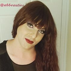 Close up of Olivias make-up.  Follow me on instagram @abbeauties