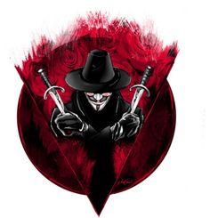 V for Vendetta by nihatgokcenart V For Vendetta Tattoo, V For Vendetta 2005, V Pour Vendetta, Dc Comics Art, Manga Comics, Marvel Dc Comics, Hacker Wallpaper, 8k Wallpaper, Rorschach Art