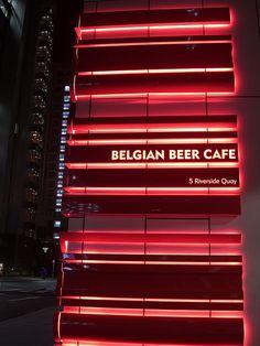Neon sign - Belgian Beer Cafe, Eureka (by avlxyz, via Flickr)