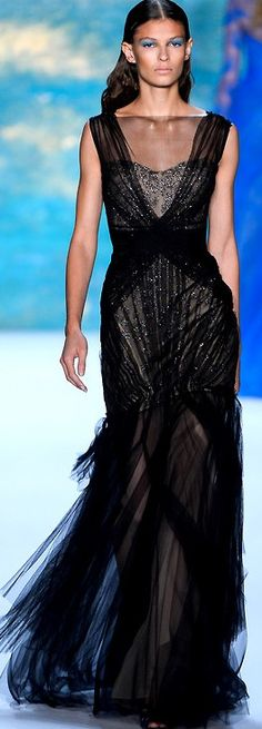 Monique Lhuillier - Spring/Summer 2013 ♥✤ | Keep the Glamour | BeStayBeautiful