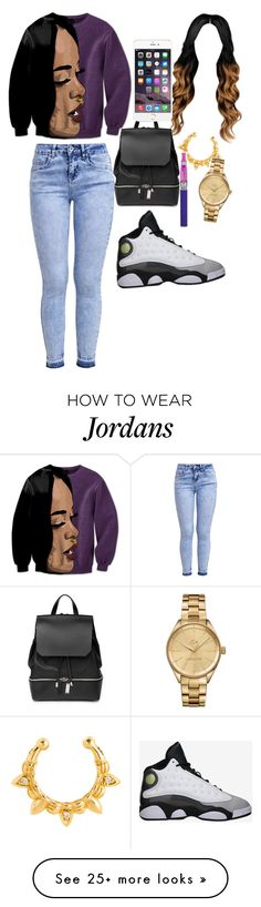 """""""be bad like Rihanna"""" by suaveroyalty on Polyvore featuring New Look, Retrò, Pamela Love, COSTUME NATIONAL and Lacoste"""