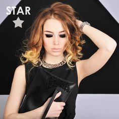 STAR COLLECTION  #loristella #bags #pochette #star #madeinitaly #black #glitter #accessories #winter #collection