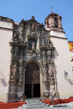 Iglesia de San Diego de Alcalá. Guanajuato, siglo XVII
