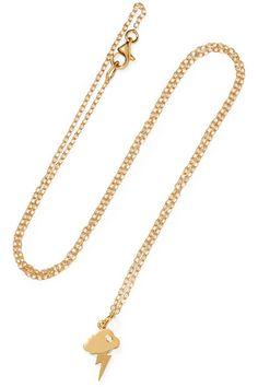 IAM by Ileana Makri | Storm gold-plated necklace | NET-A-PORTER.COM