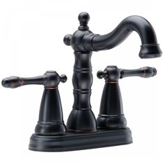 Add A Classic Touch To Your Bathroom With This Singlehandle Center - Aged bronze bathroom faucet