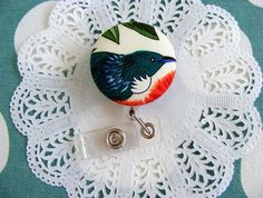 Pretty Tui Security Tag Your Cards, Crochet Earrings, Felt, Tags, Pretty, Fabric, Tejido, Felting, Tela